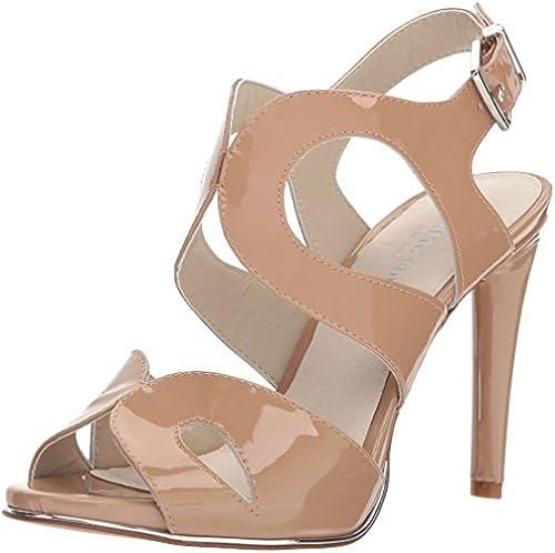 Kenneth Cole New York damen& 039;s Baldwin Stiletto Heel Dress Sandal Heeled, Dark Nude, 9 M US