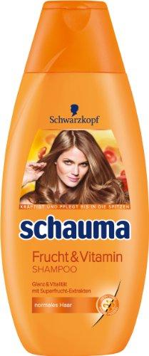 Schauma Frucht & Vitamin Shampoo, 4er Pack (4 x 400 ml)
