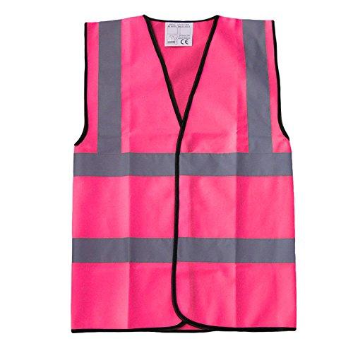 Fast Fashion - Workwear Gilet Hi Vis Réflexion De Innocuité - Mens