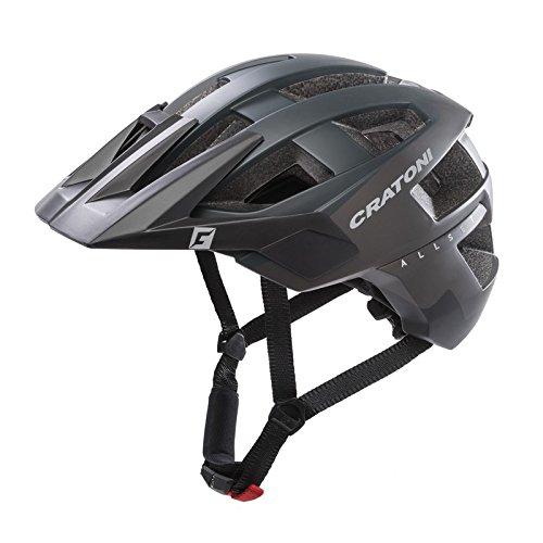 Cratoni 110601D2 Fahrradhelm AllSet (MTB) Gr. M/L (58-61cm) schwarz matt, schwarz (1 Stück)
