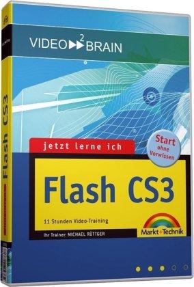 Preisvergleich Produktbild Jetzt lerne ich Flash CS3 - Video-Training - inkl. Bonusmagazin: Videotraining (Videotraining auf DVD)