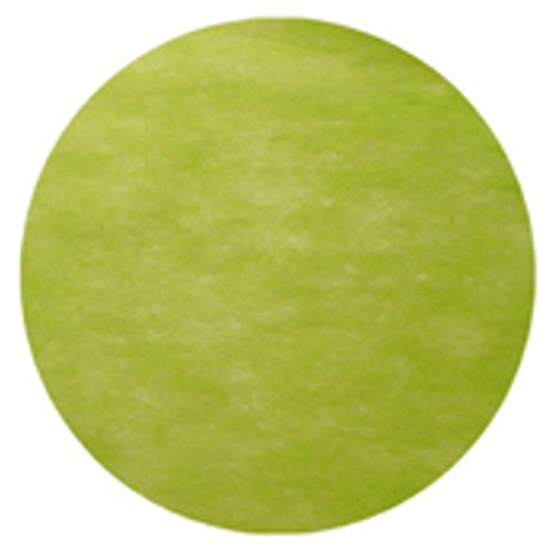50 Sets de table - 'Rond' Vert