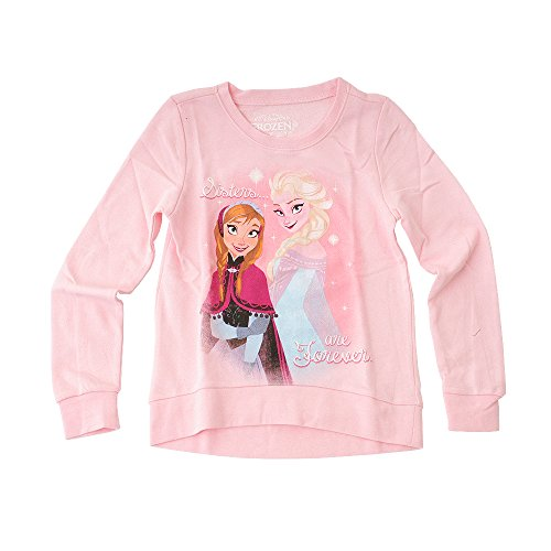 Toy Zany Disney Frozen Sisters Are Forever Mädchen Lightweight Pullover Sweatshirt | L
