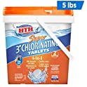 """HTH 42033 Super 3"""" Chlorinating Tablets for Swimming Pools, 5 lbs"""