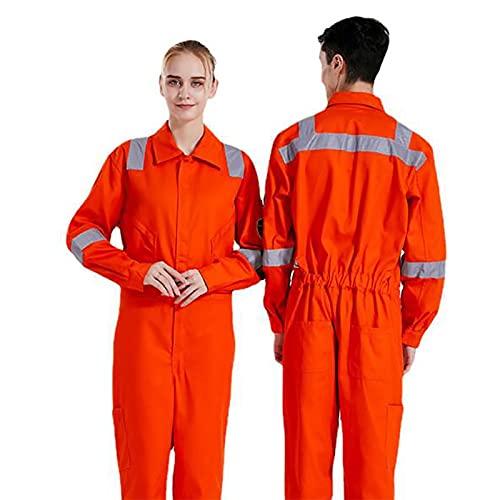 SHIXUE Feuerlöschanzug Verschleißfeste Antistatische Atmungsaktive, Flammhemmende Schutzkleidung Arbeitskleidung Mit Hoher Sichtbarkeit