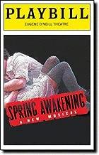 SPRING AWAKENING - PLAYBILL - April 2007 - VOLUME 123, NO. 4