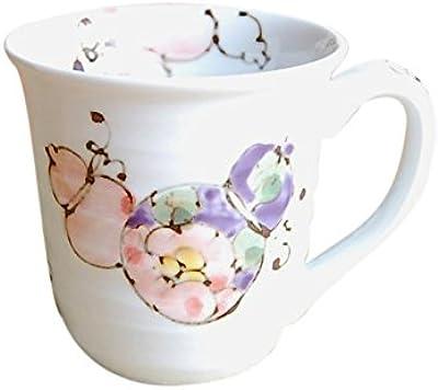 【有田焼】花六瓢(赤)マグカップ