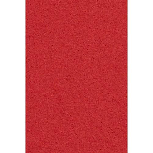 Amscan - Mantel rectangular de papel, color rojo (57115-40A)