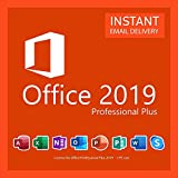 MS Office 2019 Professional Plus 32/64 |Licencia de por vida | solo para windows 10 | [Entrega 1-24h por Amazon Message Center]