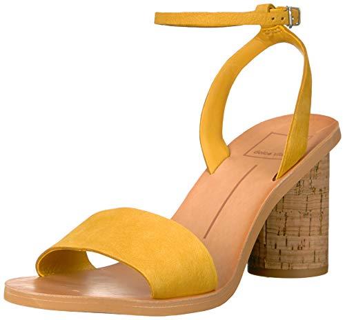 Dolce Vita Women's Jali Sandal, Honey Nubuck, 5.5 M US