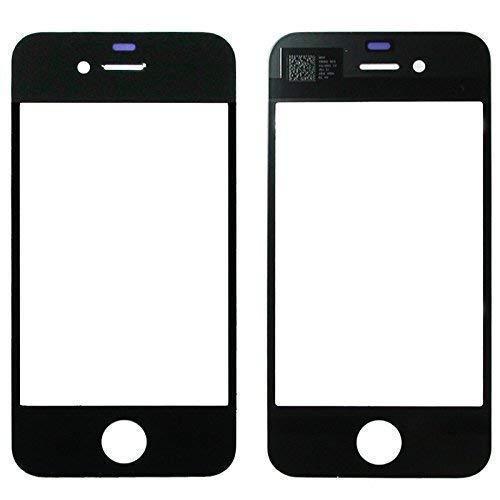 Ersatzglas Displayglas Frontglas für Apple iPhone 4/4s Reparaturset Werkzeug schwarz
