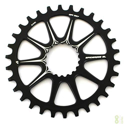 Cannondale Ai X-Sync Spidering Fahrrad Kettenblatt 10 Arm 30 Zähne schwarz