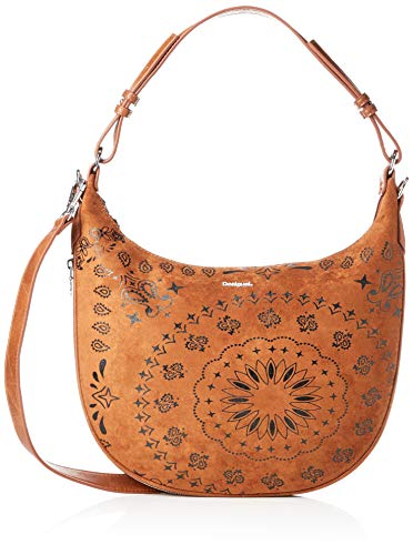 Desigual Pulsar à Across Body Bag Brown Sugar