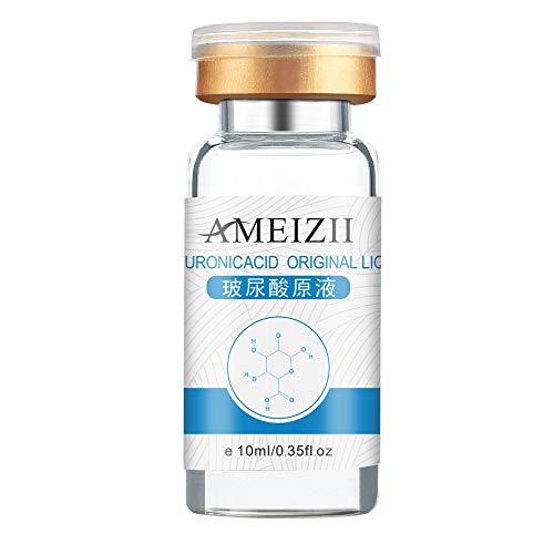 Vovotrade Acide Hyaluronique Essence Solution 10ML Crème Essence Rejuvenating Escargot 1PC Visage Peau Crème anti-acné réparatrice Sérum raffermissant