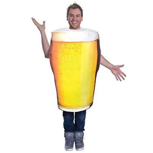 Bristol Novelty Ac779 Pinte de bière Costume, Taille Unique, Multicoloured