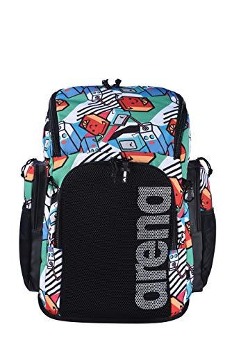 ARENA Bolsa Team Backpack 45 Allover Milkshake, Unisex Adulto, Talla Única