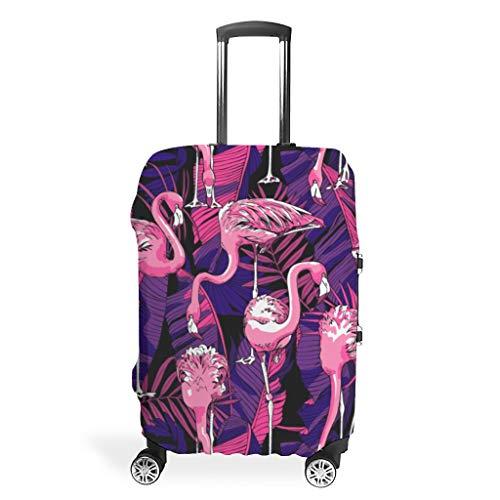 Cubierta para maleta de viaje – Distinción de fuerza multitamaño, ajuste para muchos equipajes, blanco (Blanco) - Twelve constellations-XLXT