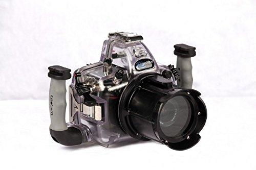 Gio-Sim carcasa submarina Gio para Reflex Nikon D 3200 óptico estándar 18-55