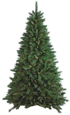 Flora Albero di Natale Artificiale, Verde, 150 cm
