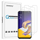 (3 Pack) Orzero Compatible for Asus Zenfone 5 ZE620KL, Asus Zenfone 5z ZS620KL Tempered Glass Screen Protector, 2.5D Arc Edges 9 Hardness HD Anti-Scratch Bubble-Free (Lifetime Replacement)