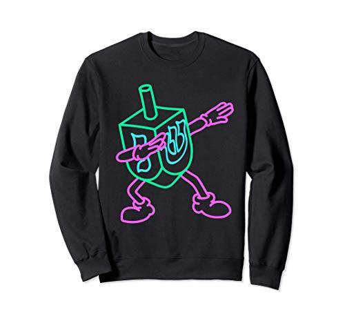Dabbing Dreidel, Chanukah, Funny Hanukkah Gifts for Kids Sweatshirt