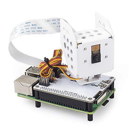 SUNFOUNDER Raspberry Pi Kamera mit AI Detection 180°Angle Movement Pan-Tilt Hat für Raspberry Pi 4B 3B+ 3B