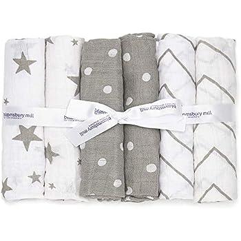 10 tissu Couches coloré tissu couche mullwindeln spucktuch pur coton 70x80 CM