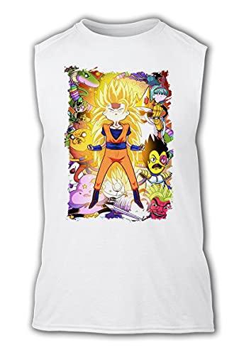 Camiseta SIN Mangas A3 Hora DE Dragon Ball Aventuras Tshirt