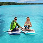 Soopotay Inflatable Sup Stand Up Paddle Board, Inflatable Sup Board, Isup Package With All Accessories All round-Navy…