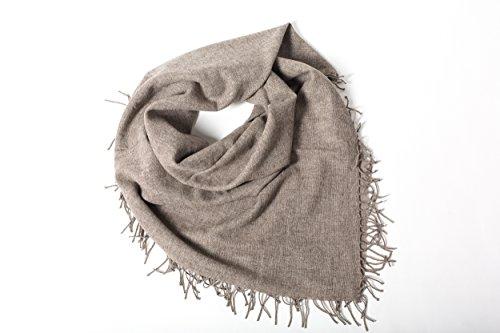 NOOS CONCEPT Pure Yak Wolle Schal und Decke 2in1