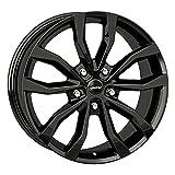 4 ruedas completas de invierno Uteca 8 x 18 ET 45 5 x 112 negro con 225/50 R18 99V Hankook Winter i*cept evo3 W330 XL FSL M+S 3PMSF