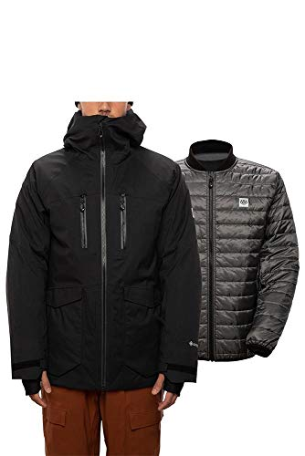 686 GLCR Men's Gore-Tex Weapon 3 in 1 Smarty Jacket - Black, X-Large