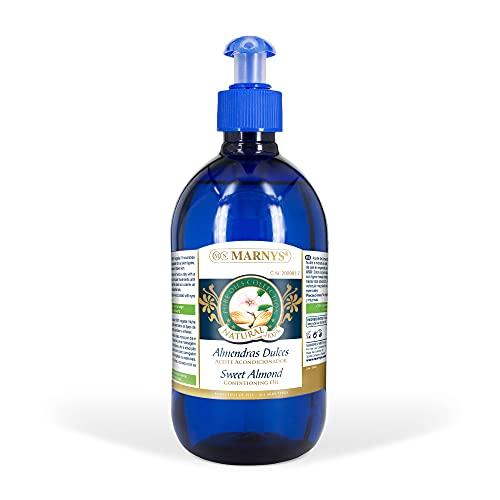 MARNYS Aceite de Almendras Dulces 100% Vegetal Dosificador 500 ml