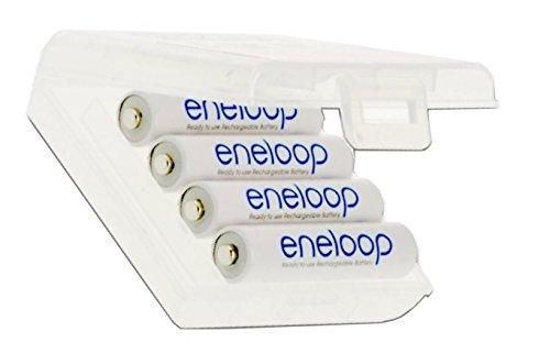 Batteria Eneloop AAA per Fotocamere digitali, videocamere, lettori CD portatili, lettore MP3 portatile, passi uomo, telecomandi, torce elettriche, PDA