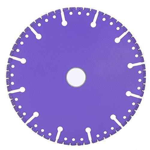 Hoja de corte de diamante de corte de 150 mm Disco de pulido de corte de diamante de hoja púrpura para hormigón Piedra Ladrillo de mampostería para vidrio para mármol