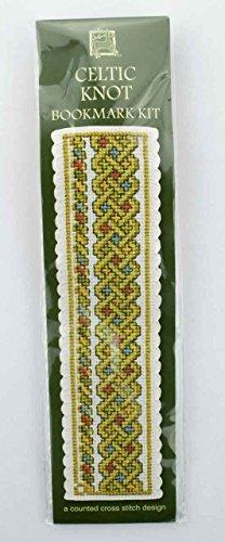 Textile Heritage Celtic Knot Bookmark - Green - Cross Stitch Kit