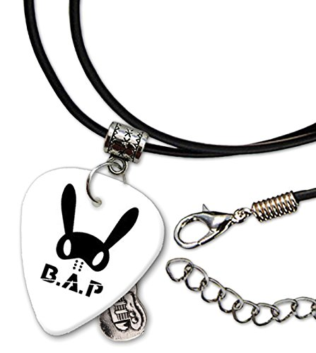 BAP Gitarre Plektrum Cord Necklace Halskette (F1)