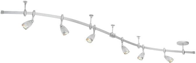 Globe Electric 5795501 Flexigon 6-Light Flexible Track Lighting, 2X 42