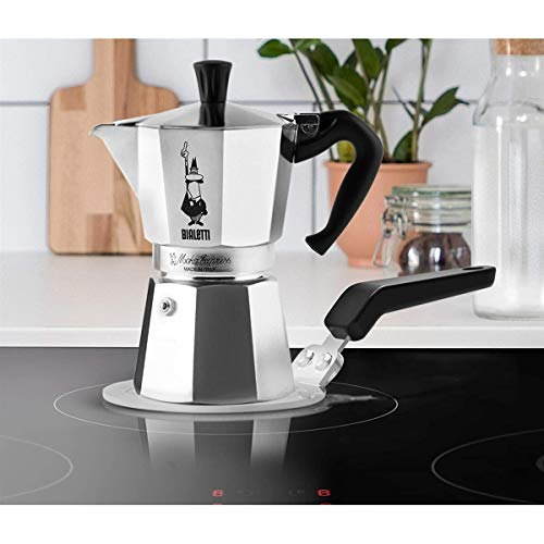 Bialetti Moka Induction Saucer Adapter for Small Cookware and Coffee Maker, 6 Cups, Diameter 13 cm, Steel