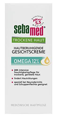 Sebamed Trockene Haut Hautberuhigende Gesichtscreme Omega 12%, 50 ml