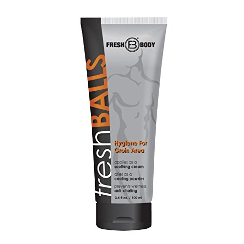 Fresh Balls Lotion The Solution for Men New 3.4oz Tube