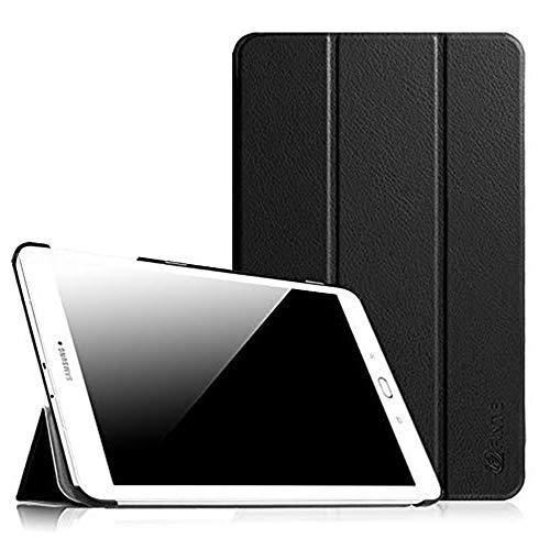 Fintie Hülle für Samsung Galaxy Tab E 9.6 - Ultra Schlank Superleicht Ständer SlimShell Cover Schutzhülle Etui Tasche für Samsung Galaxy Tab E T560N / T561N 24,3 cm (9,6 Zoll) Tablet-PC, Schwarz