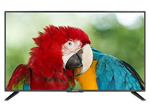Komodo by Sceptre 43' LED HDTV 3X HDMI 2.0 HDCP 2.2 VESA Wall Mount Ready, Metal Black 2018