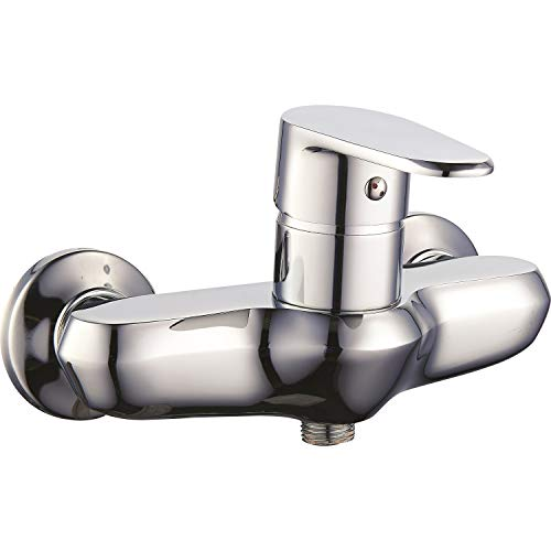 Duscharmatur Wand-Montage Serie Otto Einhebelmischer Aufputz Dusche Badarmaturen Wasserhahn