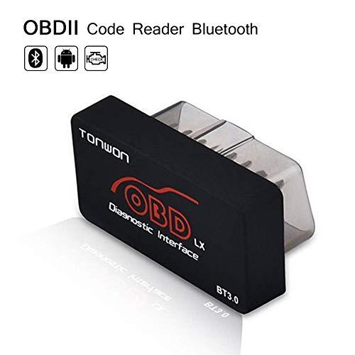 TONWON Mini Bluetooth OBD2 Strumento di Controllo Motore di Controllo Motore Lettore di Codici diagnostici