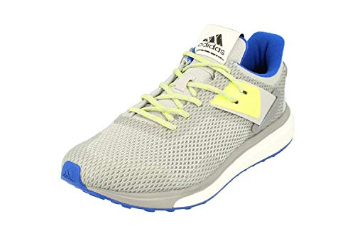 Adidas Response 3 Boost Hombres Running Sneakers (UK 8.5 US 9 EU 42 2/3, Grey Blue White AQ2498)