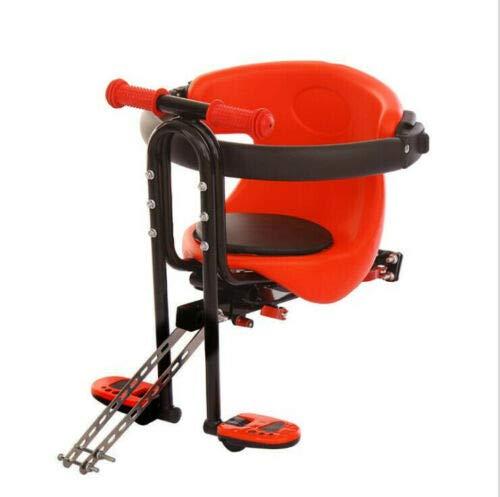 SHIOUCY Fahrrad Sicherheits-Kindersitz Kindersitz vorn für Damen Herrenfahrrad Baby Fahrrad Sitz Bis zu 30 kg /66 LB