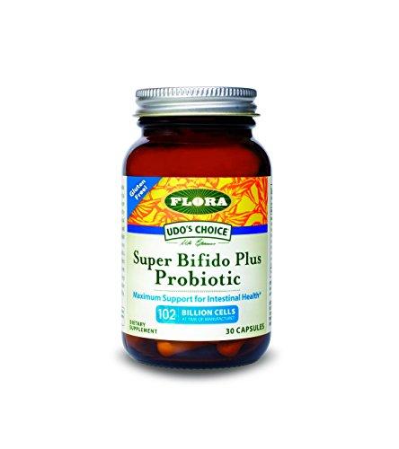 FLORA - Super Bifido Plus Probiotic, 102 Billion CFU, RAW, 30 Count