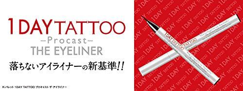 K-パレット(K-Pallete)1DAYTATTOOプロキャストザ・アイライナー01アイスブラック0.5ミリリットル(x1)