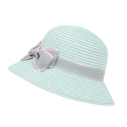 Demarkt Sommer Strohhut Strandhut Baby Mädchen Bowknot Sonnenhut Beach Hut